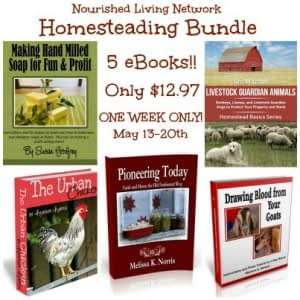 First ever Nourished Living Network eBook Bundle of the Month!