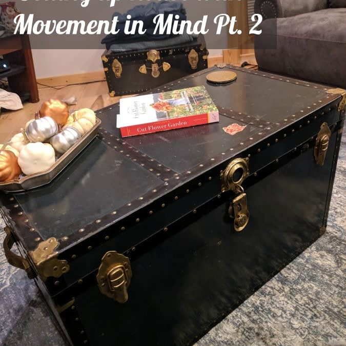 Setting up House with Movement in Mind Pt. 2
