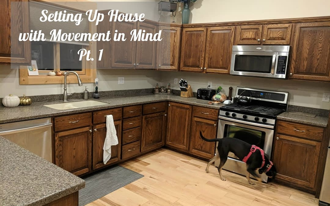 Setting Up House with Movement in Mind Pt. 1