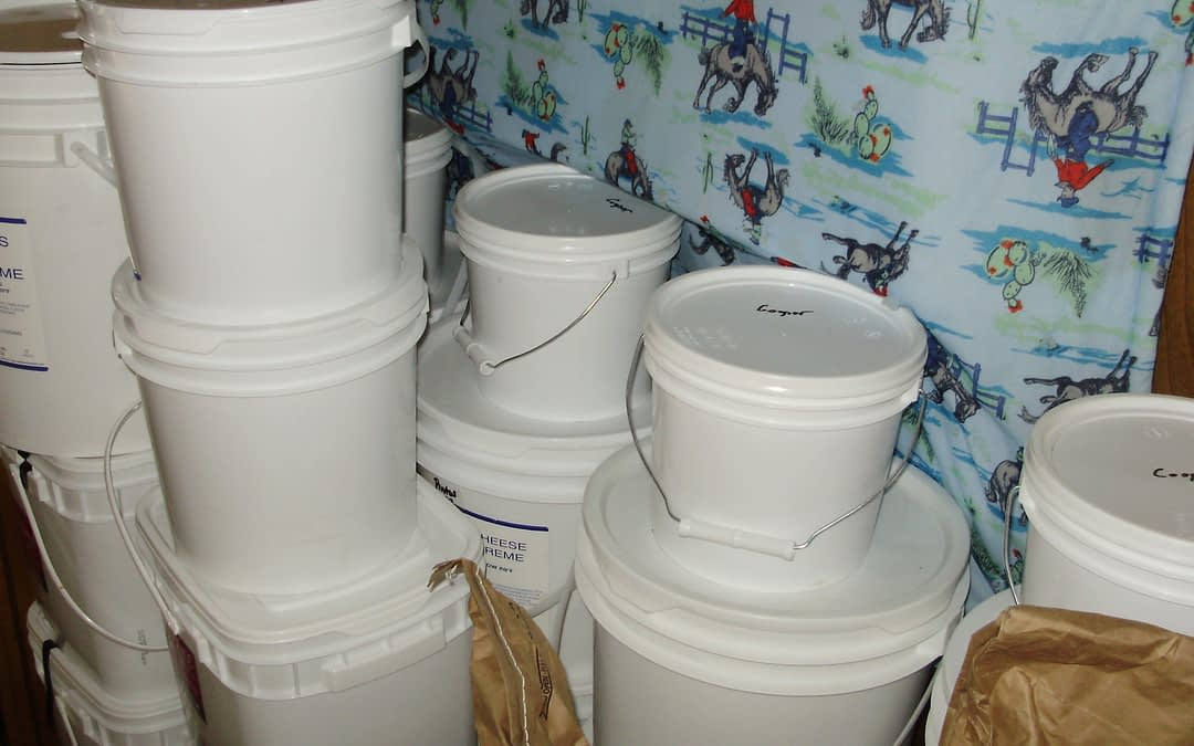 Introduction to Food Storage: Heat and Eat Bin