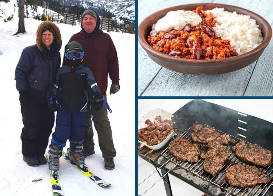 Winter Tailgating with Traditional Foods