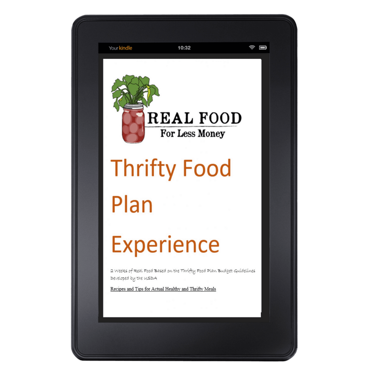 Thrifty Food Plan Experience on Kindle