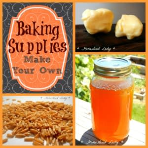 Baking-Supplies-l-Make-Your-Own-l-Homestead-Lady