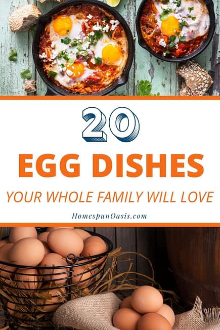 20 Egg Dishes Your Whole Family Will Love