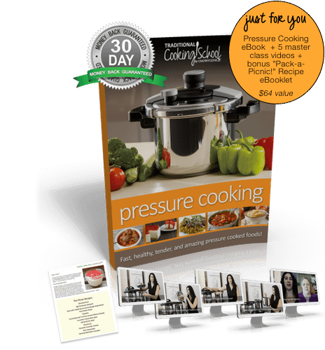 Pressure Cooking eBook from Traditional Cooking School by GNOWFGLINS